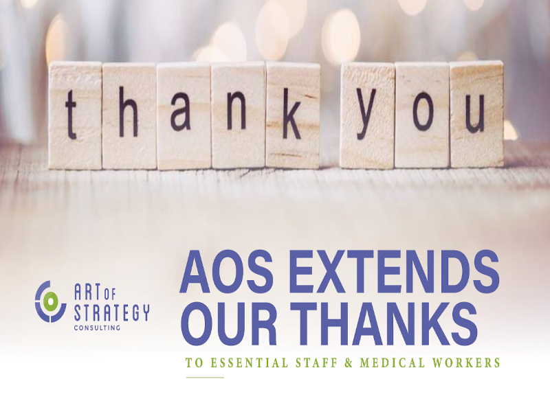 AoS Wants to Thank Those Essential Workers